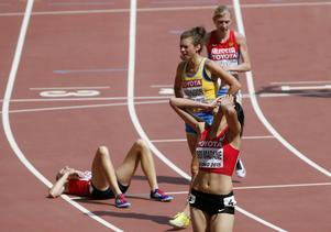 Det blev ingen VM-final för Klara Bodinson på 3000 meter hinder.