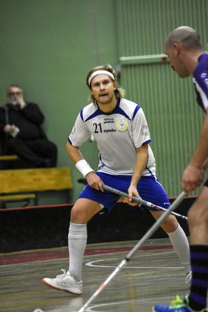 Alexander Johansson vann poängligan.