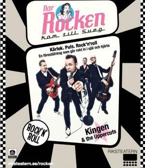 Så här ser affischen från Riksteatern ut. I vår ges 55 föreställningar runt omkring i Sverige.