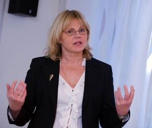 Diskrimineringsombudsmannen (DO) Katri Linna framför nu kritik mot hur scenkonstbranschen hanterar uppgifterna om sexuella trakasserier. Foto: scanpix