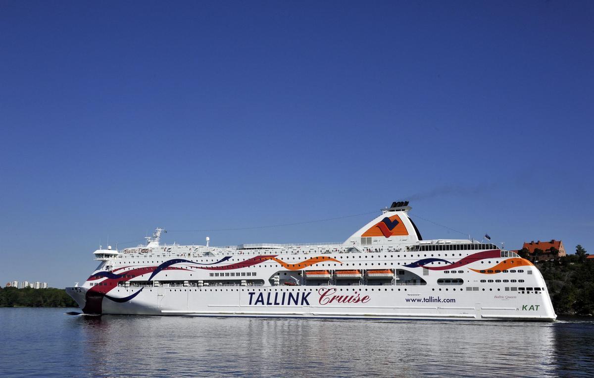 Tallink Silja ställer in persontrafiken på Estland