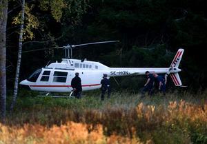 FLYKTEN. Den helikopter som användes vid rånet G4S värdetransportdepå hittades senare i Täby, norr och Stockholm. Nu uppger källor till LT att det finns kopplingar mellan rånet och Yaacoub Moussa.