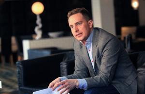 Tomas Tobé besökte Gävle för att bland annat diskutera den översyn av Fas 3 som Arbetsförmedlingen fått i uppdrag att göra.