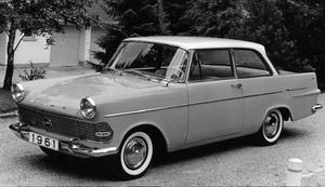 Opel Rekord från 1961. Foto: Scanpix