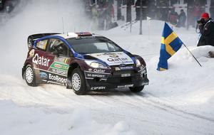 Norrmannen Mads Östberg var favorittippad, men han fick nöja sig med tredje plats.