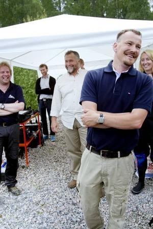 SKAPARE. Bo Ulfhielm från Länsmuseet berättade om kapten Olsson som förliste utanför Axmar för hundrafyrtio år sedan. Idag vill Bo säga till kapten Olsson