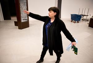 Ingrid Eriksson, projektledare för de nya basutställningarna som Länsmuseet ska bygga upp.