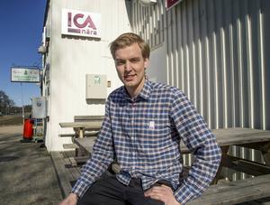 David Eriksson har alltid drömt om att driva egen butik. Nu har drömmen slagit in.