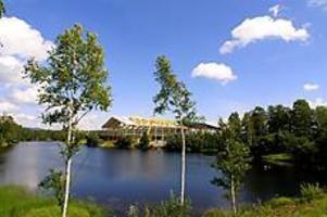 Edsbyn arena. I Edsbyn ligger Bandysveriges nya stolthet - den nya inomhusanläggningen. Den ska invigas 22 september.