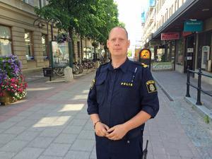 Andreas Dahlbom är ny kommunpolis i Härnösand.