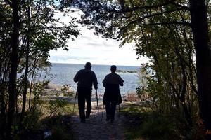 På väg ut till Storviken.
