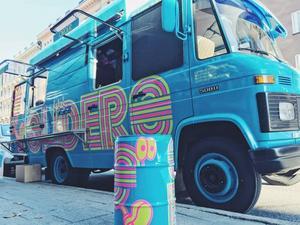 Flippin' Burgers foodtruck: Sliders.