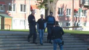 Den andra rånaren greps strax efter rånet.