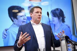 Tobias Baudin, förbundsordförande Kommunal. Foto: TT