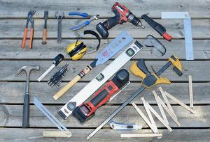 Bra verktyg gör jobbet så mycket roligare och effektivare. Satsa på kvalitet och använd alltid rätt skyddsutrustning.Foto: Daniel Röös