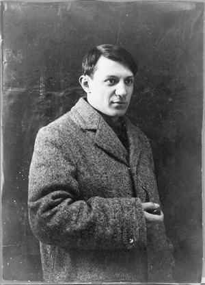 Pablo Picasso 1908. Foto: Okänd