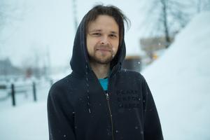 Andreas Högdahl, 24, student, Sundsvall.