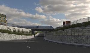 En tunnel under järnvägsspåret kan bli verklighet vid Smedgatan i Ljusdal om Trafikverket får grönt ljus.