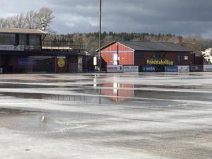 Krillans is har i stort sett smält bort – vad händer nu, undrar inständarskribenten. (Foto: Privat)