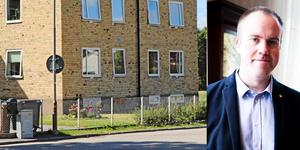 Kommunalrådet John Johansson (S) menar att alla har ett ansvar för att Gnistan inte har renoverats på många år trots att behovet är stort. Bildblock: Göran Wärnelid/ Daniel Patino Flor
