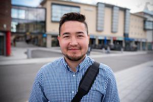 Hamid Moradi, 19 år, studerande, Afganistan.– Jag hade tänkt åka upp till Norra berget för att äta god mat och umgås med mina vänner.
