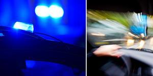 En man i 30-årsåldern misstänks för flera trafikbrott. Foto: Stina Stjernkvist/TT, Gorm Kallestad/TT