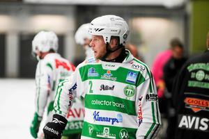Stefan Edberg har fått ta klivet in som libero den här säsongen.