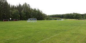 Det är på Björkhaga IP som serieledarna Lohärads IF spelar sina matcher.
