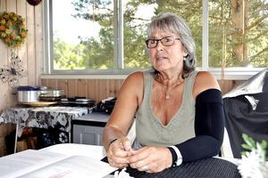 59-åriga Annelie Wassman försöker ta till vara livet mer än någonsin, sedan hon fått diagnosen spridd bröstcancer.