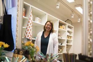 I oktober öppnade Eleonor Örner Lindblad butiken på Västra Tullgatan i Hudiksvall.
