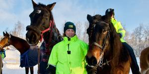 Anneli Lennartsson från Svegs Ryttarförening är en av personerna bakom planerna på ridskola i Härjedalen. Arkivfoto