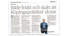 Ur Bärgslagsbladet/Arboga Tidning den 14 december 2020.