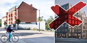 Marknaden förändras – nu planeras bygge av hyreslägenheter. Bilder: Filip Gustafsson Högman, Corner Property Partners. Montage: Robin Brinck