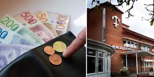 Förvaltningsdirektörernas löner har idag en median på 83 000 kr. Foto: Fredrik Sandberg / TT(t.v.), Måna J Roos(t.h.).