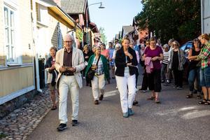 För 43:e året i rad guidar Daniels Sven Olsson, bland annat på hemmaplan - Östanfors, som fått sitt namn för att stadsdelen ligger öster om forsen i Faluån.