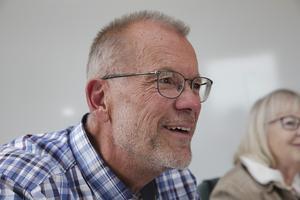 Filmstudion har sällan lockat så mycket folk som i år. Så inte att undra på att ordföranden Jörgen Gunnarson drar på smilbanden.