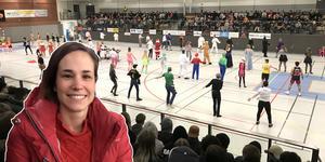 """""""Ingen jul utan julkul"""", säger Vallaläraren Madelene Henningsson som själv var med som elev."""