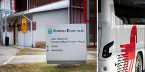 Mannen döms till böter för att ha tagit sig in i bussdepån i Borlänge. Arkivbilder. Foto: Tomas Nyberg & Mikael Hellsten