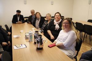 Diskussionen går varm när medlemmar i Hammarby stadsdelsförening samlas.