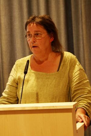 Förra kommunstyrelsen skötte inte vägfrågan så bra, anser Karin Jansson, (MP).
