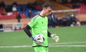 KIK-målvakten Ludvig Larsson höll nollan mot Gute.