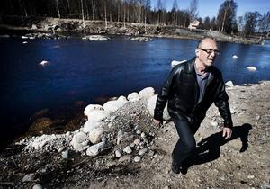 Fiskeprojektet Notholmen är fullbordat. Fiskeutvecklare Janne Lundstedt kan ta ytterligare ett steg mot ett fiskeparadis i Ljusne.