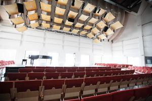 En av konsertsalarna.