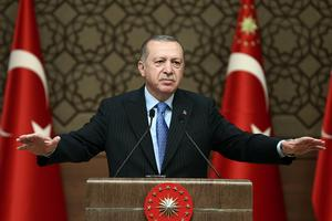 Recep Tayyip Erdoğan, Turkiets president. Foto: AP