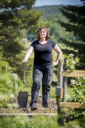 Britt-Marie Stegs har varit i EU-parlamentet och talat sig varm för mobila slakterier.