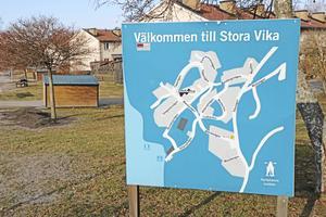 Stora Vika är en tätort som ofta kommer lite i skymundan.