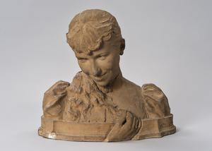 Skulptören Ida Mattons porträtt av Matilda Hanström Brendt från 1891 finns i dag i Nationalmuseums ägo. Pressbild. Foto: Anna Danielsson