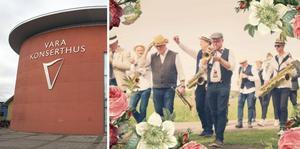 Bohuslän Big Band  inleder sommaren på Vara konserthus efter att restriktionerna för publikantal höjs till 50 personer den 1 juni.