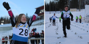 Det var rafflande starter på Östersunds Skidstadion under söndagen men inte i form av längdskidåkning. I stället var det den något ovanligare grenen snöskolöpning som var i fokus under Special Olympics Invitational Games.