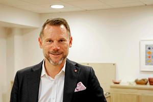 Andreas Svahn (S), regionstyrelsens ordförande.